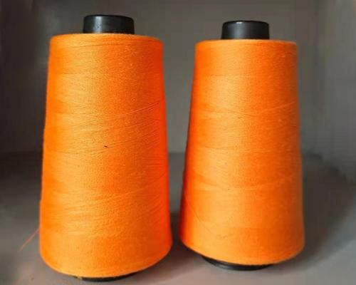 橙色缝纫线