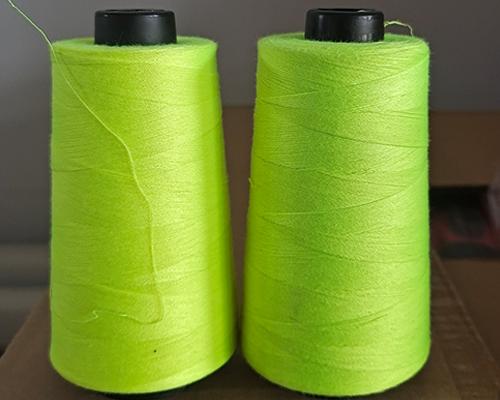 荧光绿缝纫线